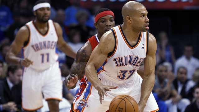 Report: Former Thunder Guard Derek Fisher Eyeing Potential Comeback