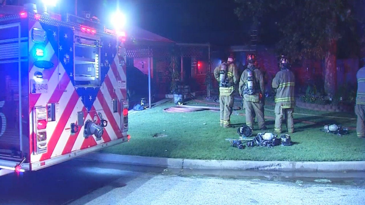 Five Escape Early Morning House Fire In SW OKC