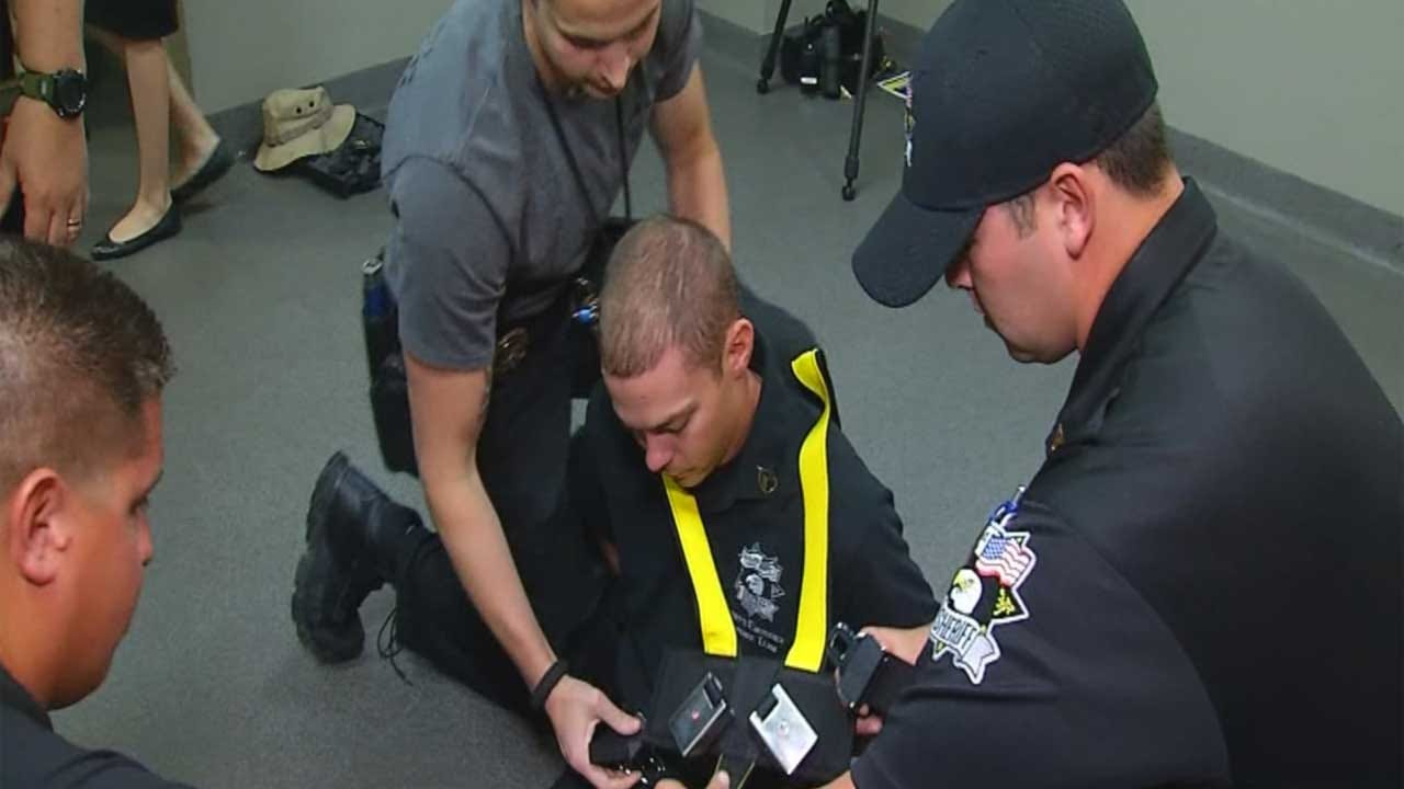 Oklahoma County Jail Officials Unveil New Safety Restraints