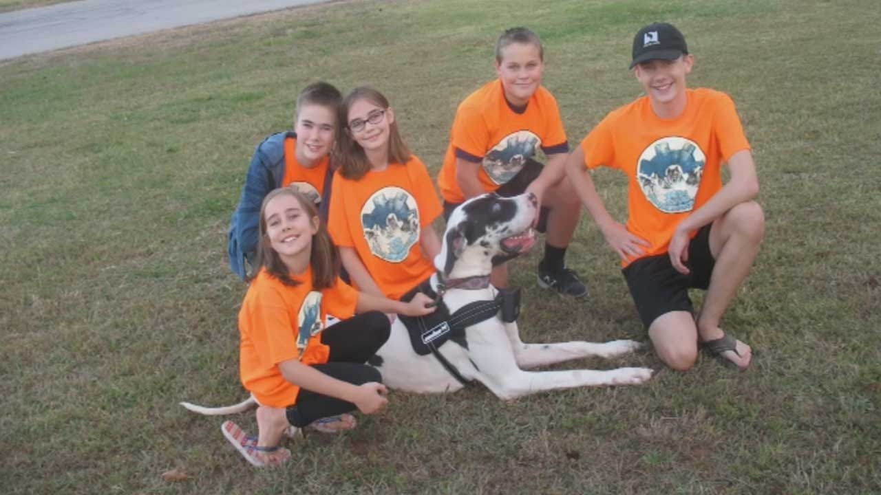 Young Robotics Team In Norman Invents Device For Blind Dogs