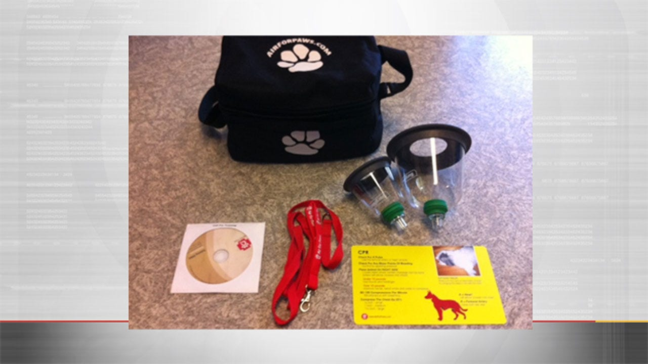 'Air For Paws' Donates Pet Oxygen Mask Kits To MWC Fire Department