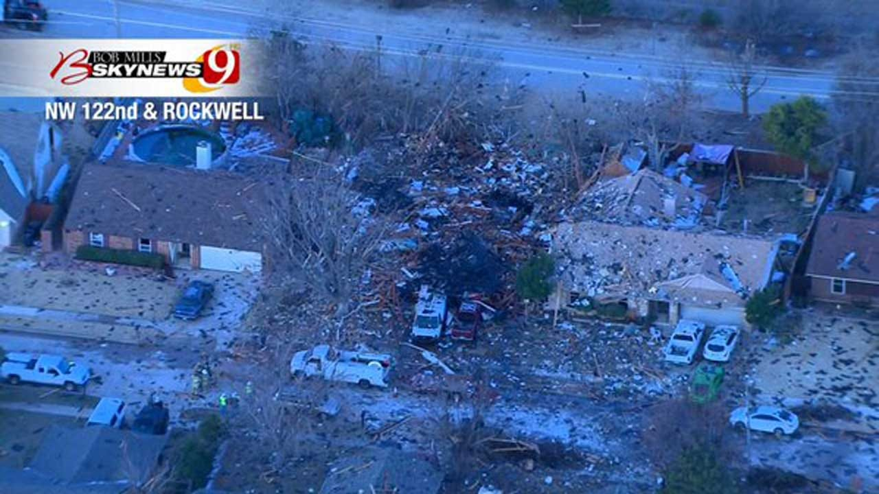 ONG Report: 'Poor Workmanship' Was Cause Of NW OKC House Explosion