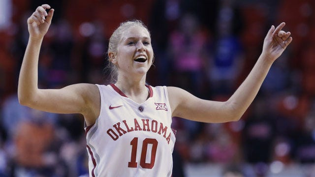 OU's Peyton Little Named Big 12 Player Of The Week