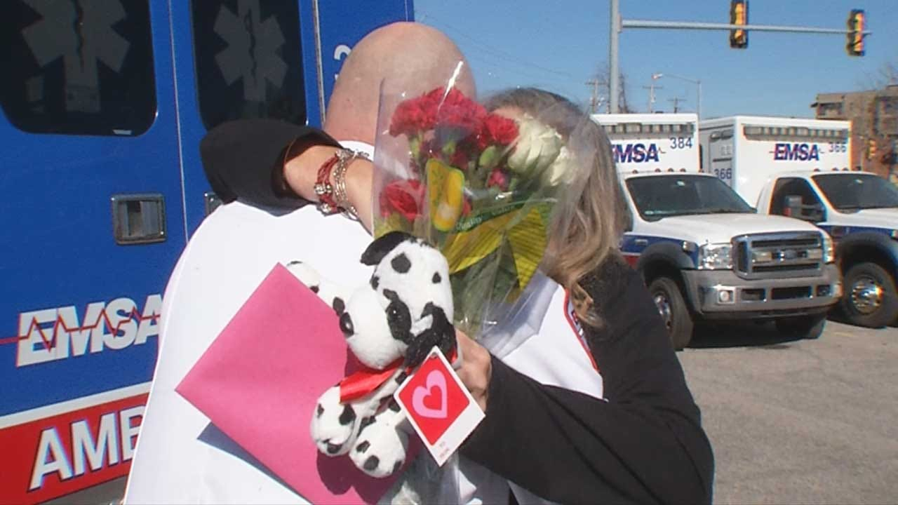 Heart Attack Survivors Reunite For Valentine's Day