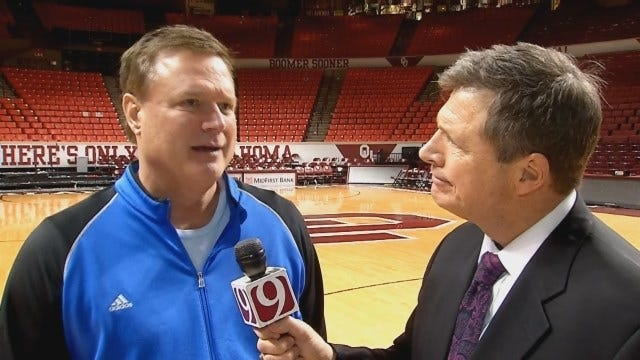 Dean Goes 1-On-1 With Kansas Head Coach Bill Self