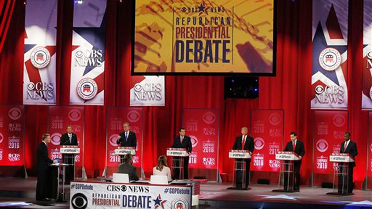 Republican Debate: Candidates Clash On Policy, Records