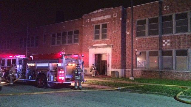 Officials: Fires At Dunbar Elementary In OKC Intentionally Set