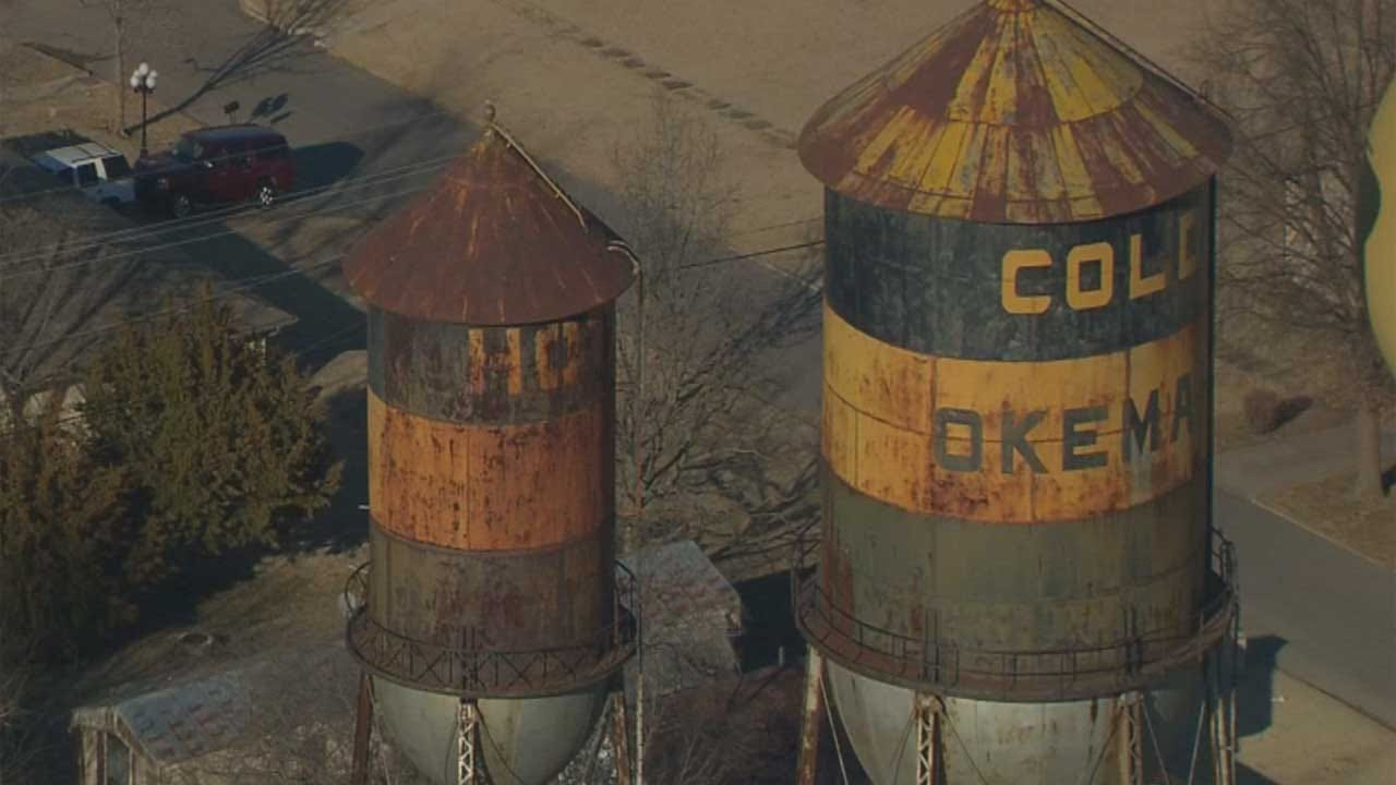 Online Petition Drive Underway To Save Okemah Water Towers