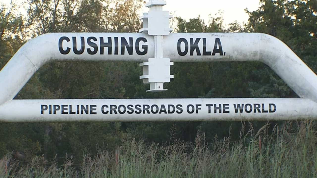 Cushing Oil Storage Facility Approaching Capacity