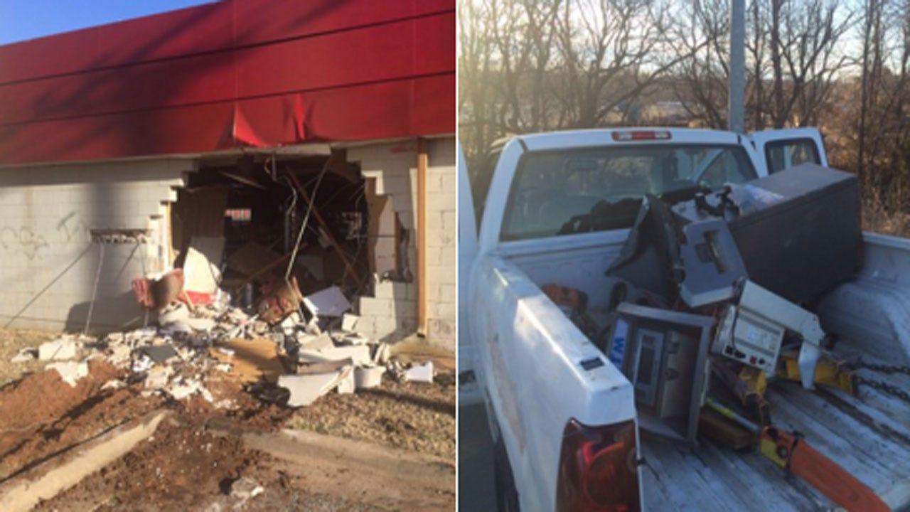 Authorities Arrest Suspect Accused Of Stealing ATM In Northeast OKC