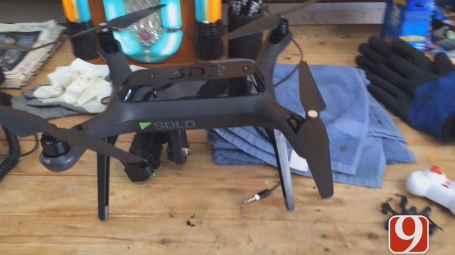 News 9's Drone 9 Takes To The Skies