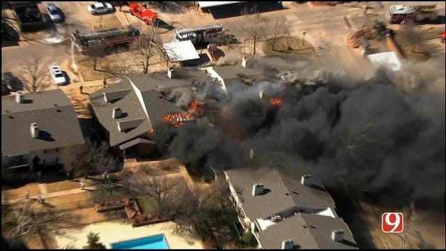OKC Fire: Condo Fire Caused By Contractor Working On Building