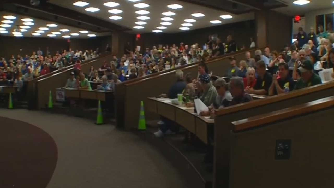 OTA Holds Public Meeting Over Turnpike Expansion In Choctaw
