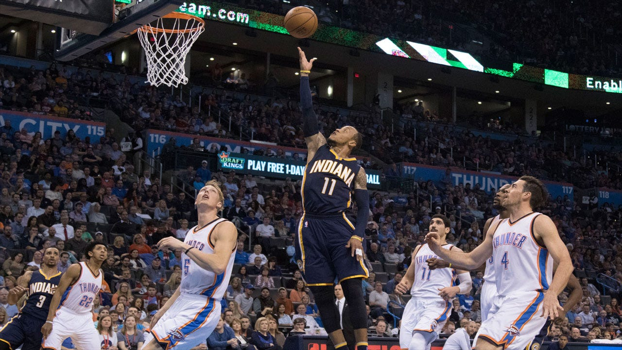 Thunder Out-Paced Down The Stretch, Fall To Indiana
