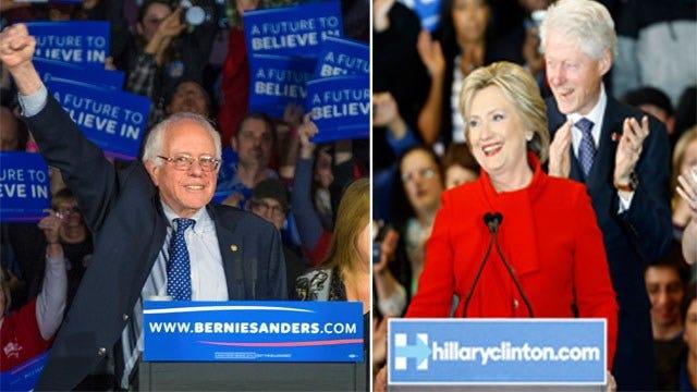 """Iowa Caucus: Sanders vs. Clinton """"A Virtual Draw"""""""