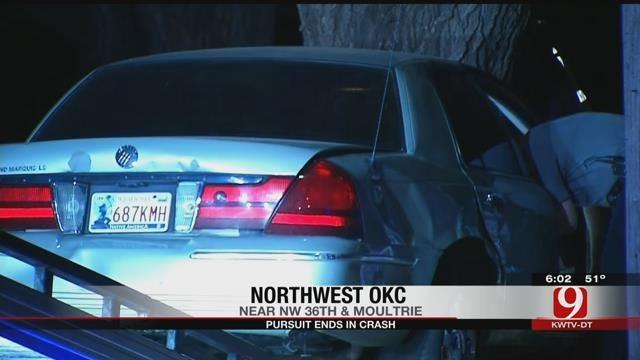 Four Suspects In Custody After OKC Pursuit