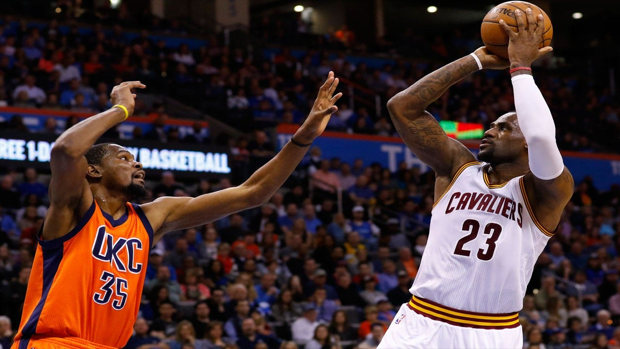 Thunder Get Thumped By Cavaliers Behind LeBron's Near Triple-Double