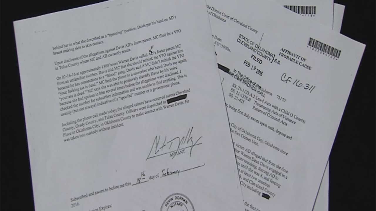 OKC Man Accused Of Child Sex Crimes