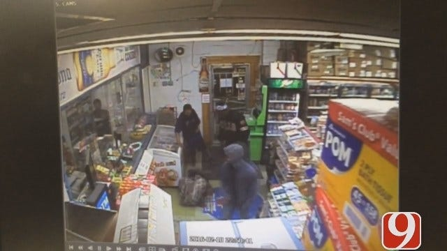 Police Searching For Suspects Who Beat Man At SW OKC Convenience Store