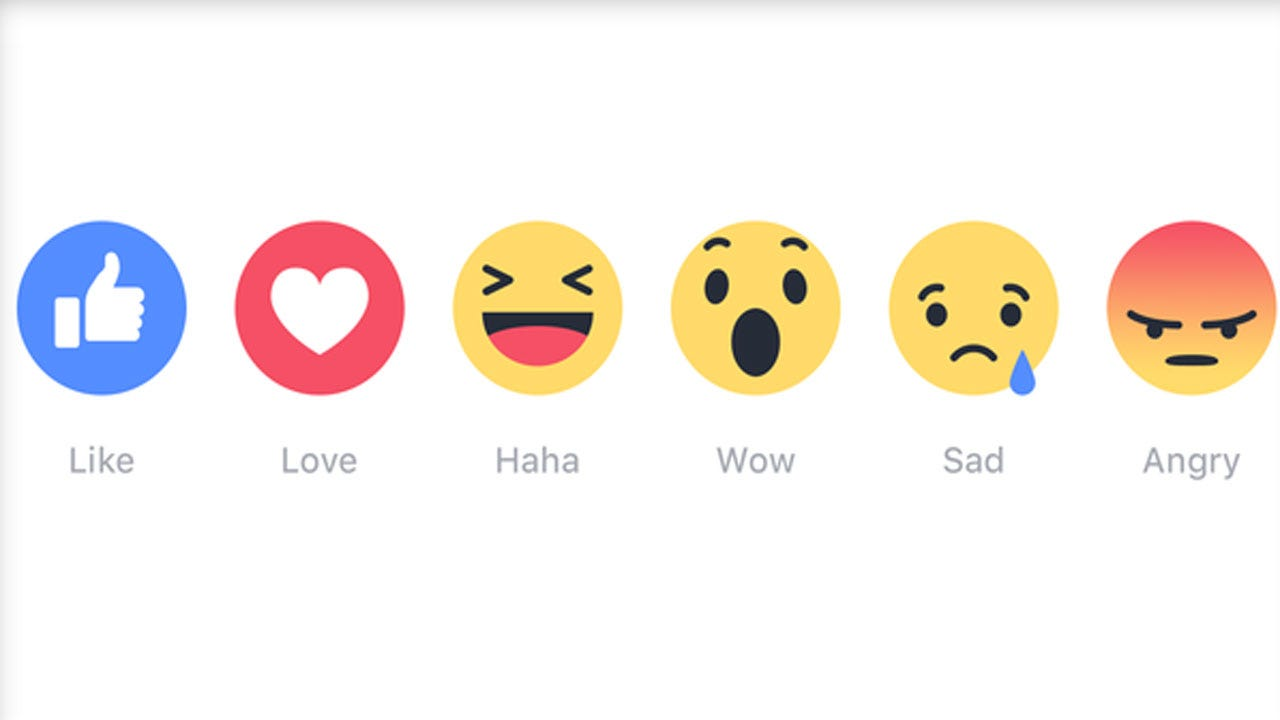 Beyond 'Like': Facebook Rolls Out 'Reactions' Feature