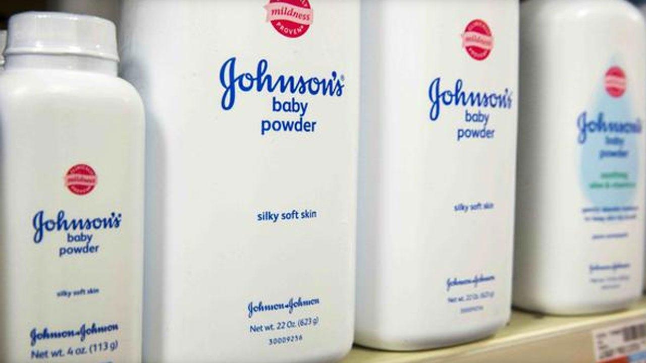Johnson & Johnson Ordered To Pay $72M Over Cancer Death