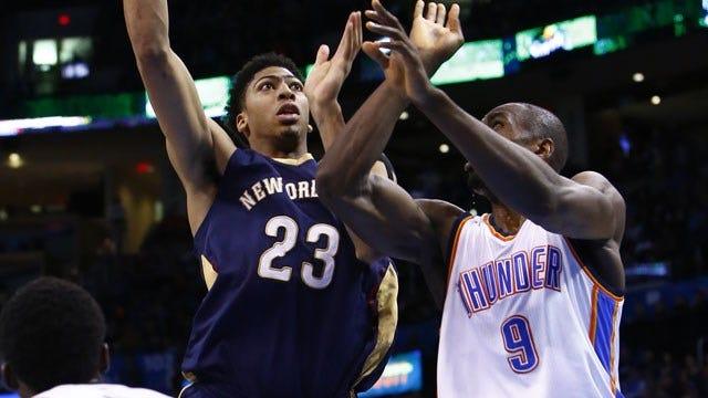 Thunder Social Scene: Pelicans Host Thunder In NOLA