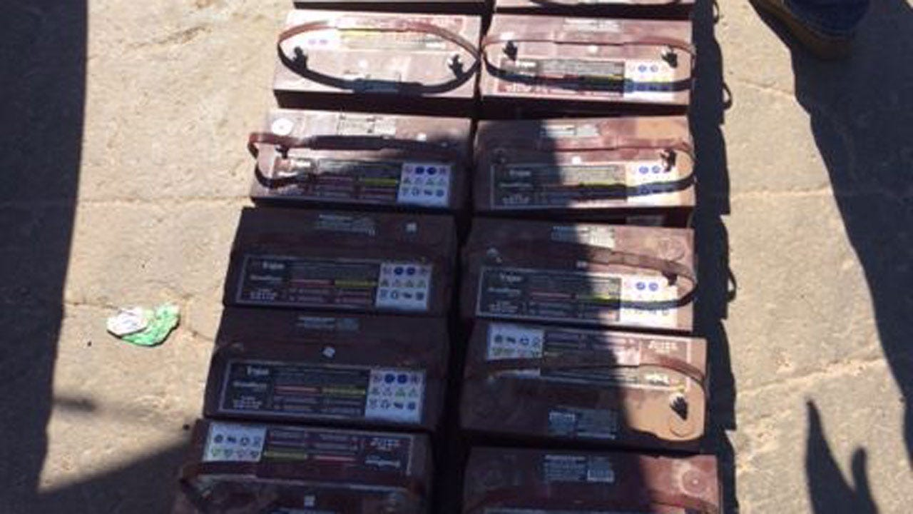 Authorities Arrest 2 Wanted For Selling Stolen Chemical Pump Batteries