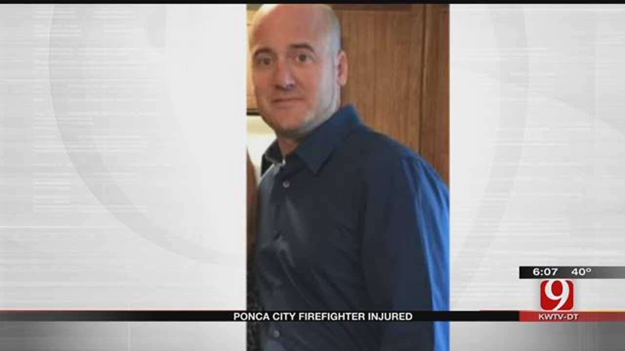 Ponca City Firefighter Run Over By Fire Truck