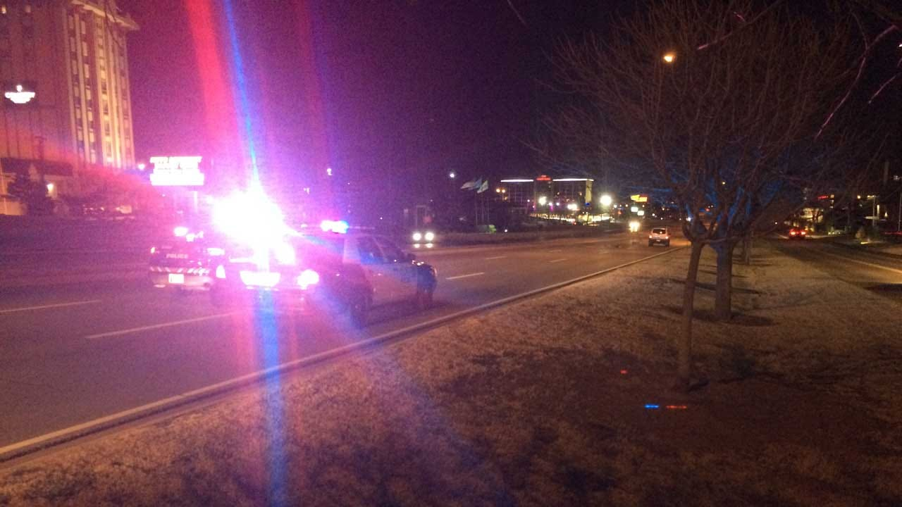 Two Injured In Auto-Ped Crash In NW OKC