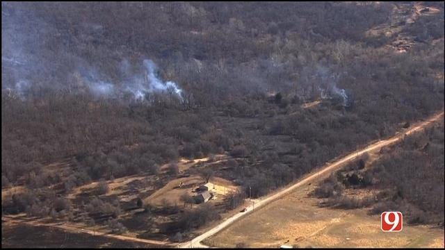 Turner Turnpike Reopens Between Bristow, Stroud After Grass Fire