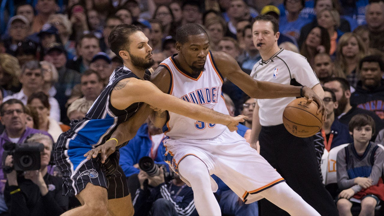 Durant Does It Again: KD's Game-Winner Lifts Thunder Past Magic