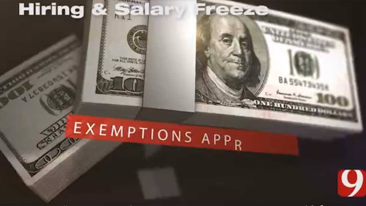 9 Investigates: State Hiring Freeze Exemptions