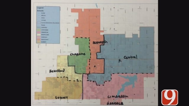 Edmond Majorly Redistricting School Boundaries For First Time In 18 Years