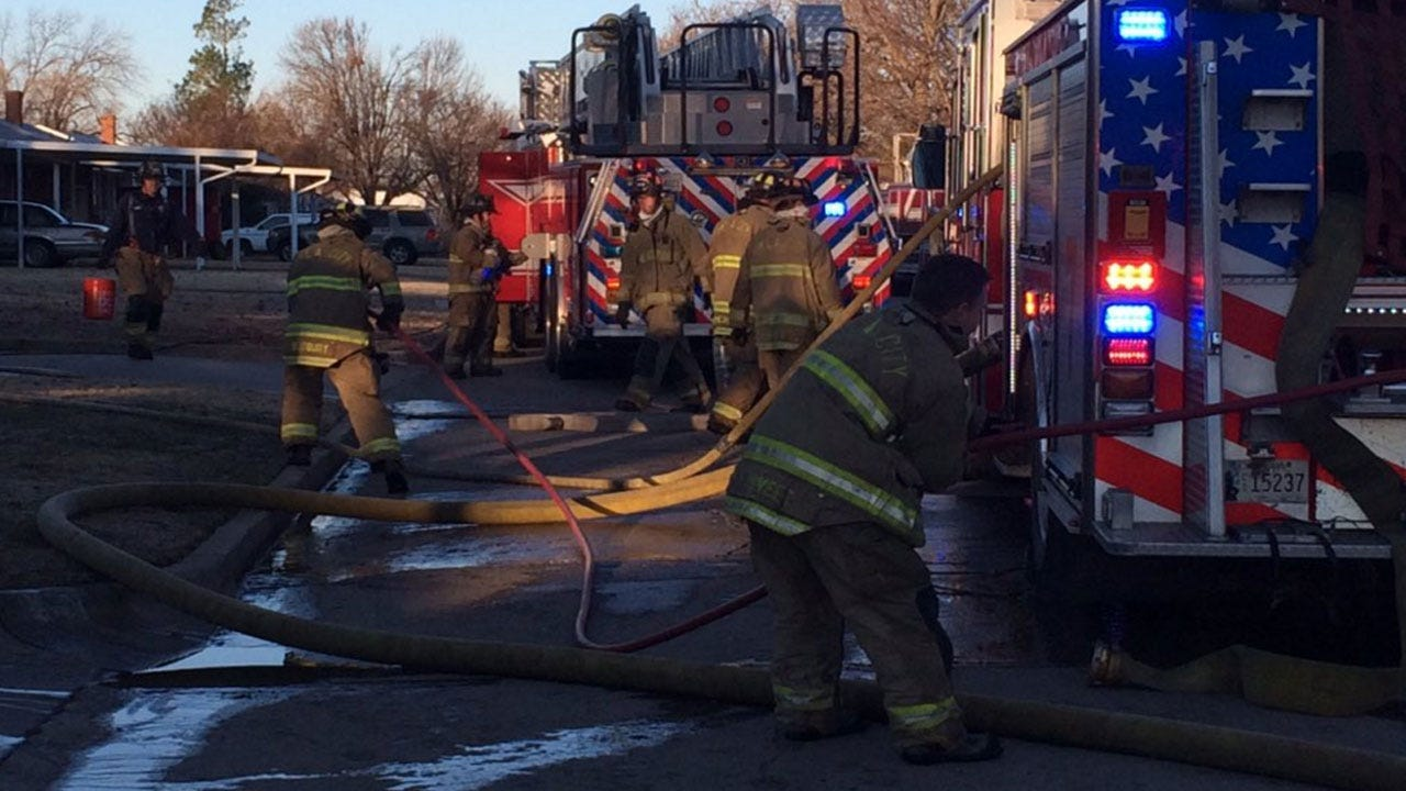 Firefighters Contain House Fire In Southwest OKC