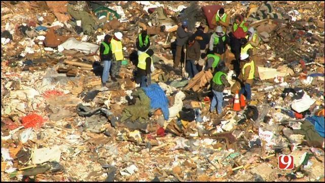 Police Investigate After Body Was Found In NE OKC Landfill