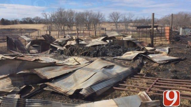 Volunteer Firefighters Save Bedridden Woman From Grass Fire