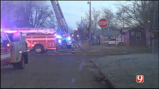 Crews Contain House Fire In SE OKC