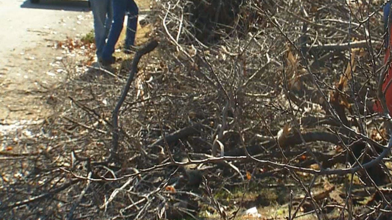 OKC Officials Asking For Patience In Storm Debris Pickup