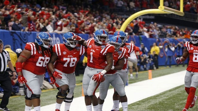 Rebels With A Cause: Ole Miss Drubs OSU In Sugar Bowl