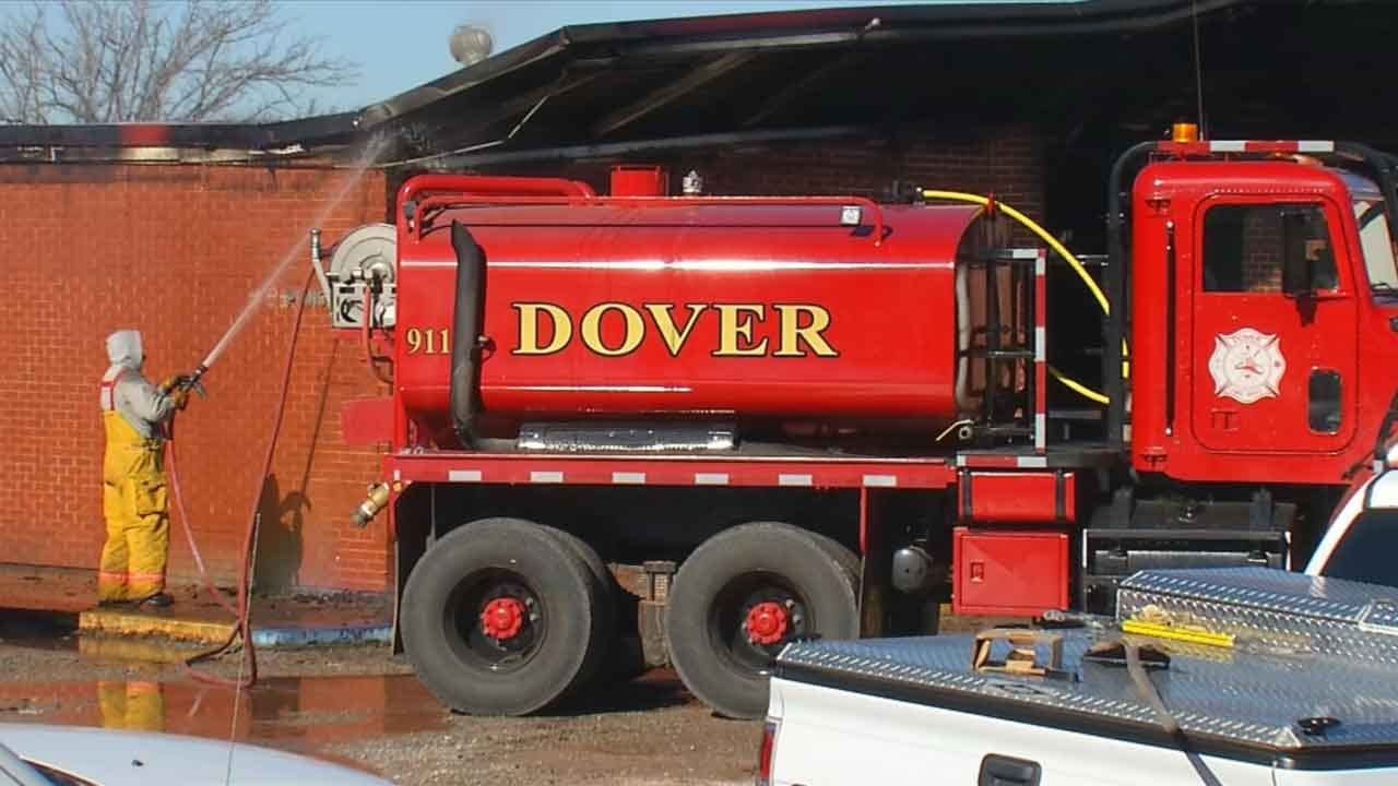 Dover Leaders Picking Up Pieces After Fire Destroys School