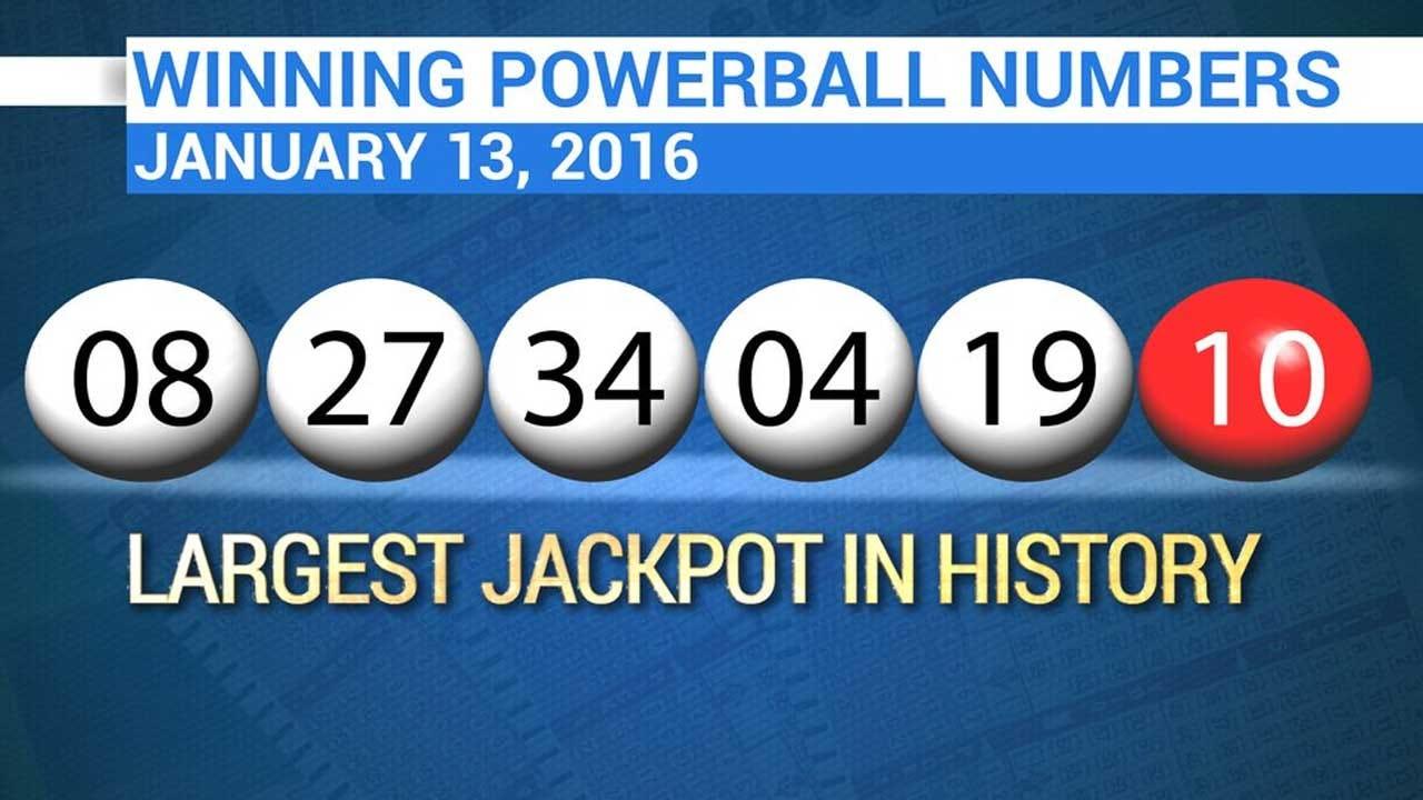 $1.5B Powerball Jackpot: At Least 3 Winning Tickets Sold