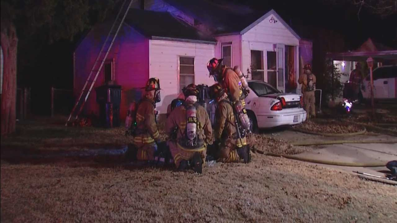 Three Escape Early Morning House Fire In NW OKC