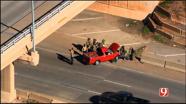 Crews Respond To Rollover Crash In NW OKC