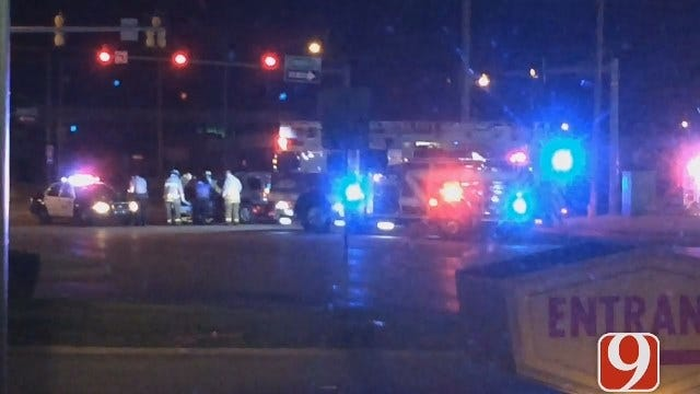 Crews Respond To Two-Vehicle Collision In SE OKC