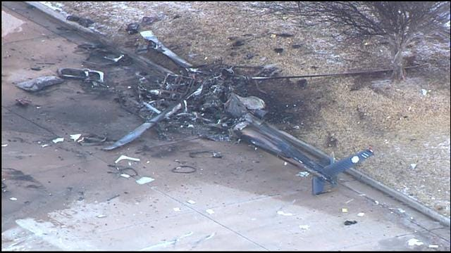 NTSB Blames Ice For Fatal Medical Helicopter Crash In OKC