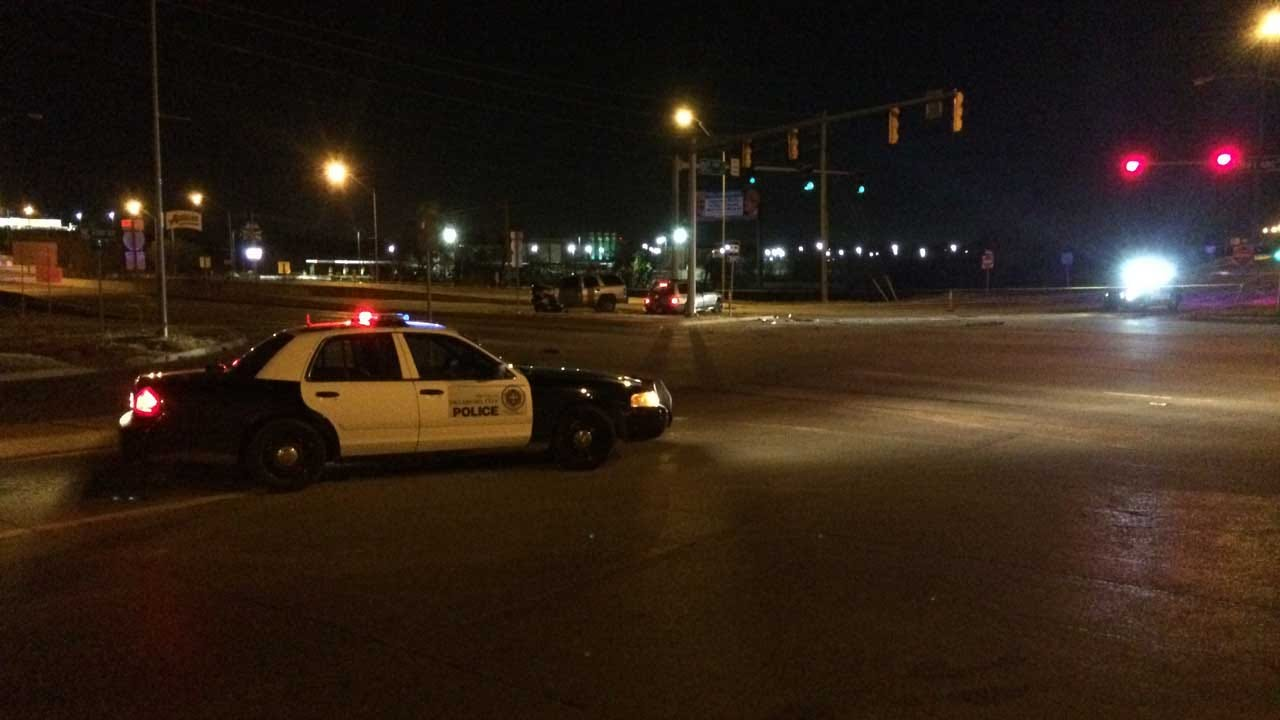 One Killed In Two-Vehicle Collision In NE OKC