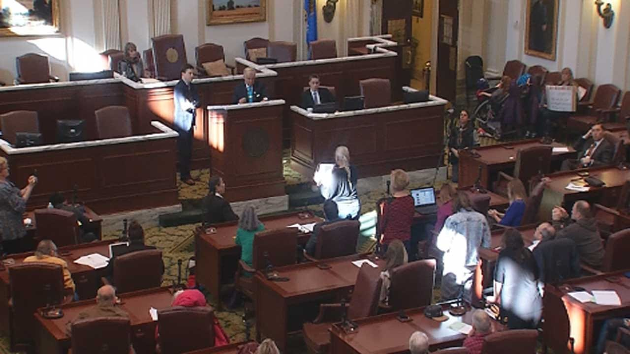 Public Hearing On Oklahoma Earthquakes Held At State Capitol