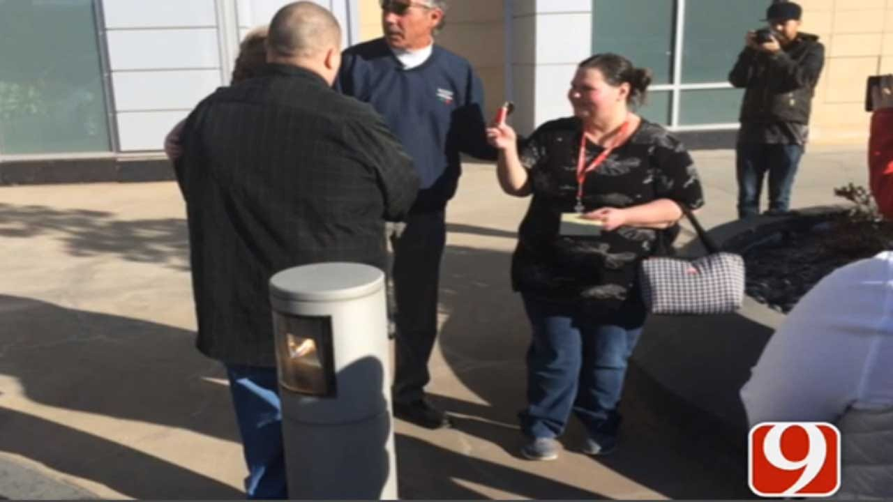 Shawnee Dealership Makes Donation To Family In Need