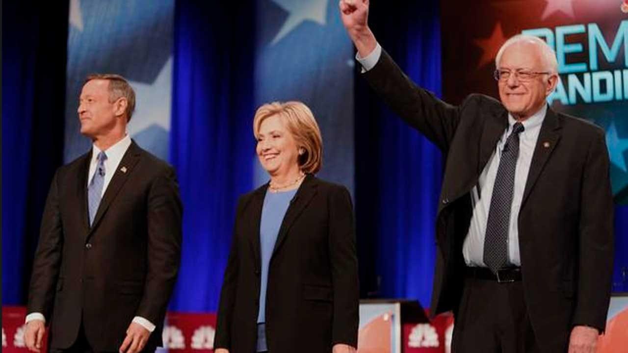 Clinton, Sanders Spar On Health Care, Wall Street In Fourth Democratic Debate