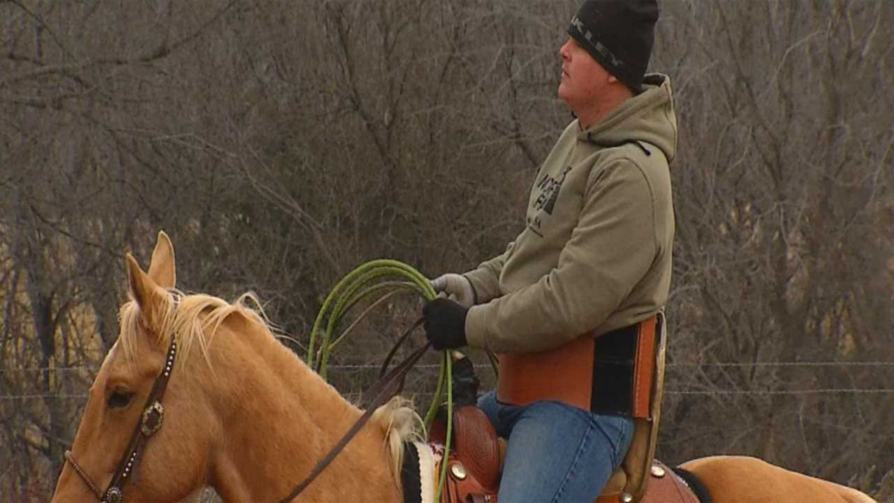 Paralyzed Cowboy Finds Support, Friendship With Horse